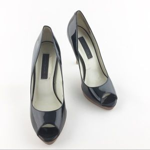 Steven by Steve Madden Peep Toe Pumps Size 8